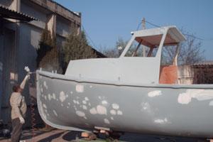 Sevboatmotors производит ремонт корпусов любых катеров, яхт и лодок