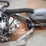 Установка двигателя Craftsman Marine CM 4.80 на прогулочный вельбот